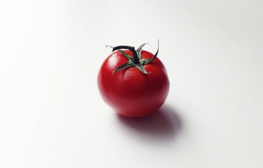 a lovely tomato