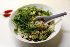 brown rice congee