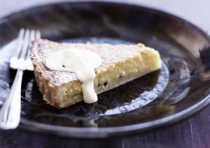 Sue Shepard passionfruit tart