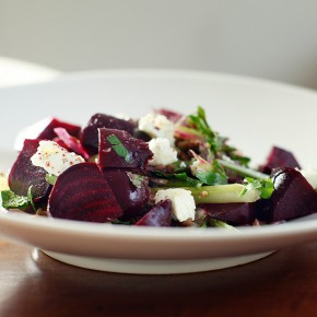 Think energy. Think beetroot salad.